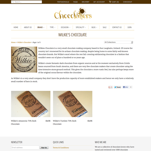 Chocolatiers.co.uk