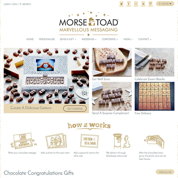 Morse Toad - Shopify Development by Elegant MicroWeb
