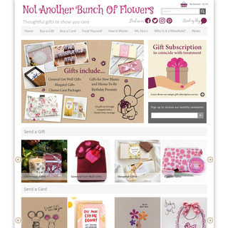 Not Another Bunch Of Flowers - Shopify Development by Elegant MicroWeb