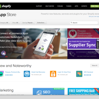 Our app has appeared on the Shopify app frontpage.