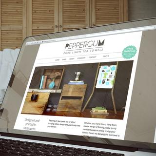 Peppergum - Store setup and theme design.