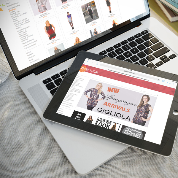 Gigliola.com - Store functionality and SEO optimisations.