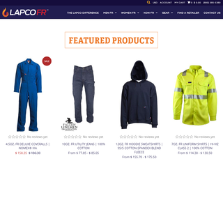 Custom Shopify Website - https://www.lapco.com