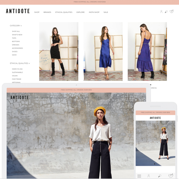 Antidote - Women's multi-brand eco conscious