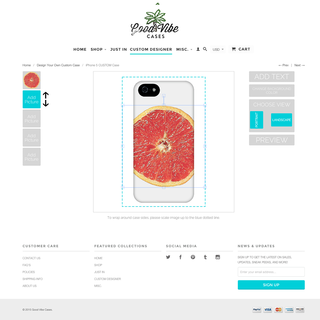 Custom iPhone Case Builder