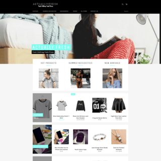 An E-Commerce Women's Clothing Website.