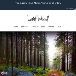 Leafwood  Website