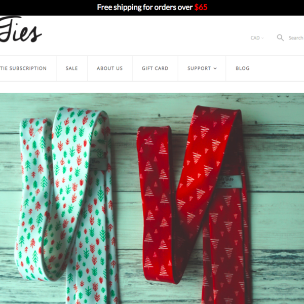 Mule Ties Website