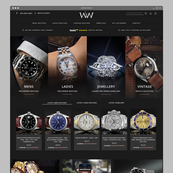 Store design and build for Watches of Wales