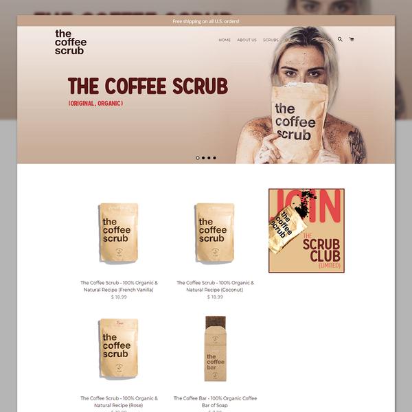 thecoffeescrub.com