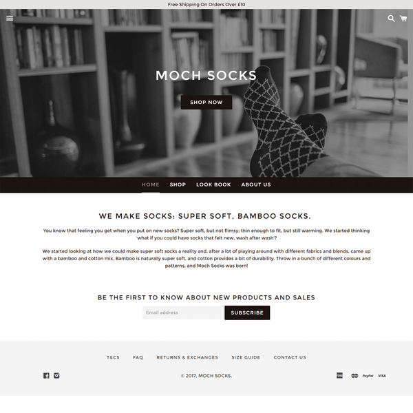 Premium Socks - Shopify Store