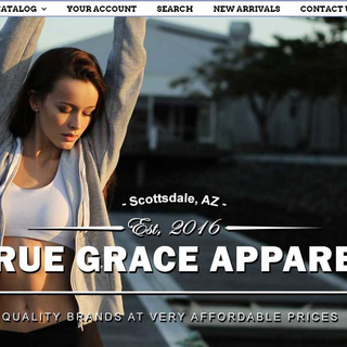 Implemented TrueGraceApparel.com