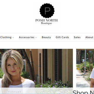 Moved PoshNorth.com from a wordpress site to Shopify