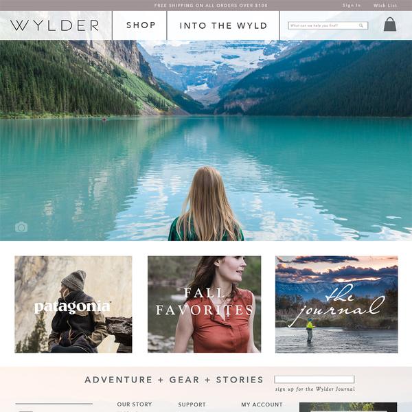 Wylder development and setup services