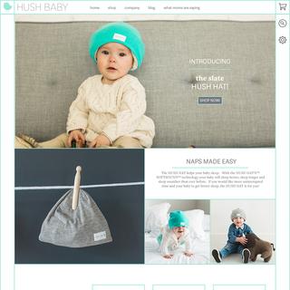 Hush Baby web design and development