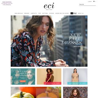 ecinewyork.com homepage