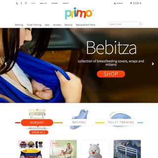 primobaby.com homepage