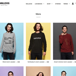 Walldog ecommerce