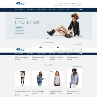 Fashion related Shopify Website