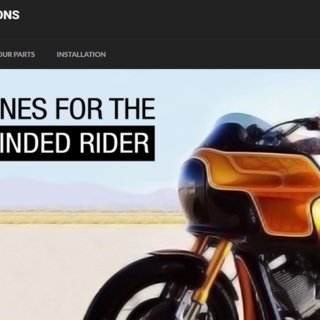 Deviant Fabrications: MotorCycle parts