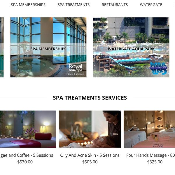 Le Royal Hotel & SPA online Shop