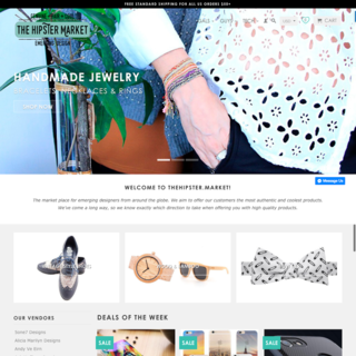Store Setup, Design, App (iOS & Android), & Digital Marketing for TheHipster.market