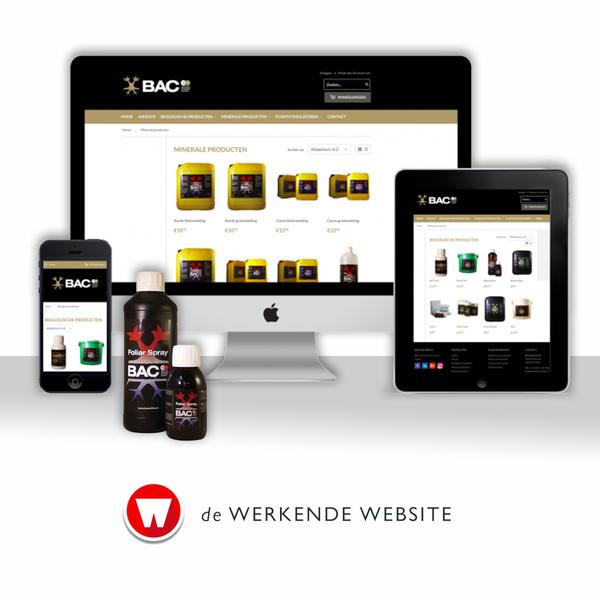 de Werkende Webshop voor BAC Online