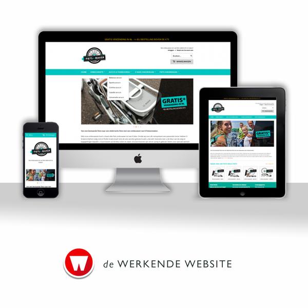 de Werkende Webshop voor E-fietsenmaker