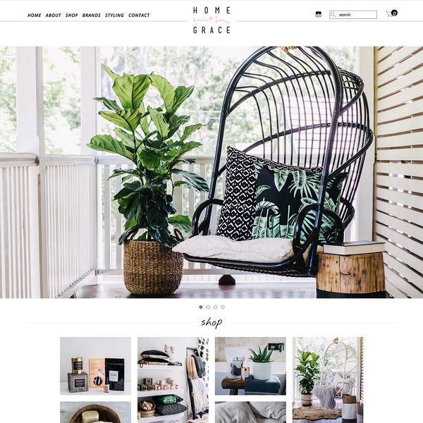 Home With Grace - Homewares and Interior Design Store