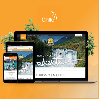 See our design for www.chile.travel built with custom design