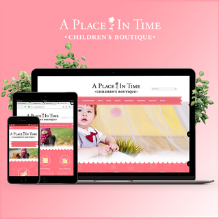 A Place in time built on Shopify