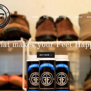 Friendly Foot shoe deodorizer full-width homepage