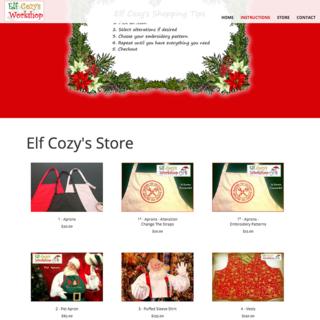 Elf Cozy's Workshop - Clothes for Santa's