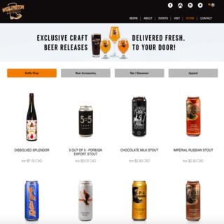 Wellington Brewery Store