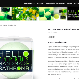 HelloSoap - Hungarian vegan natural soaps and batch bombs