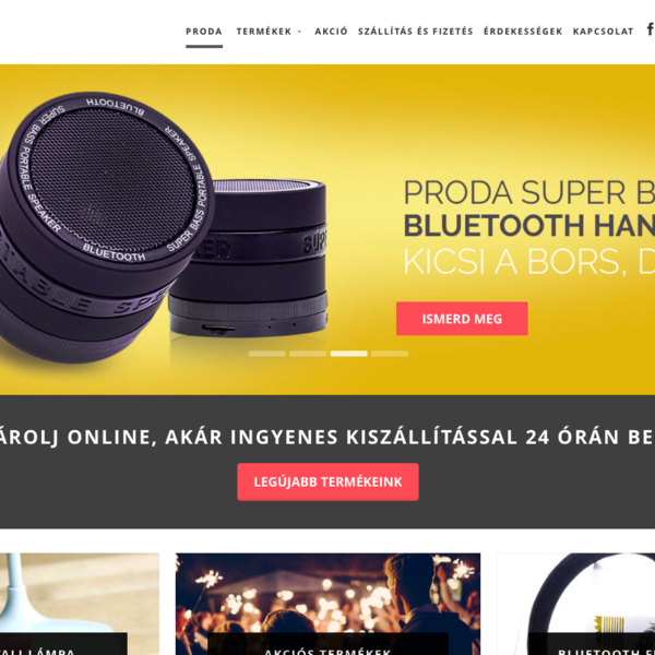 Proda - Electronic gadget shop