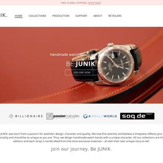 JUNIK  I Watch straps Handmade in Germany