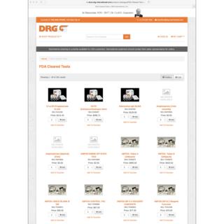 DRG International - Leading Medical Diagnostic & Laboratory Equipment Supplier