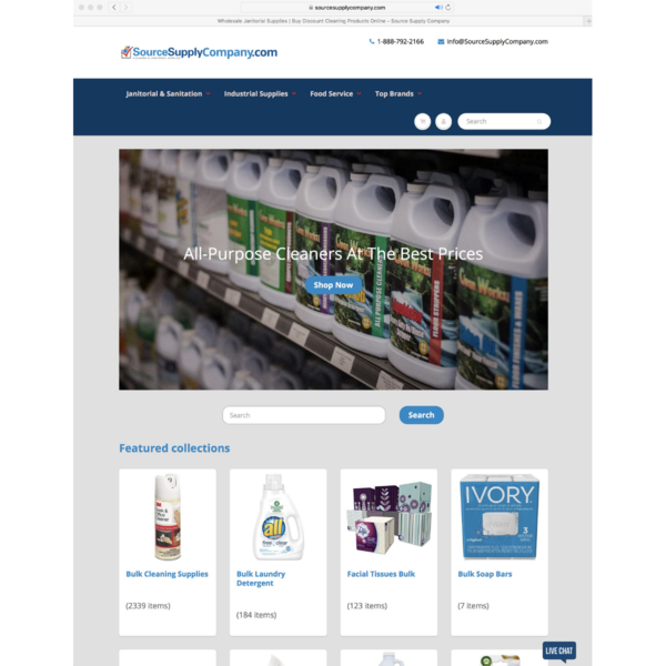 Source Supply Company - Wholesale Janitorial Products