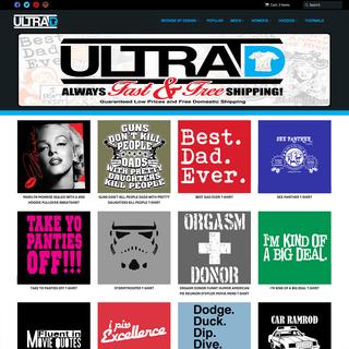 Ultra D - setup, custom theme
