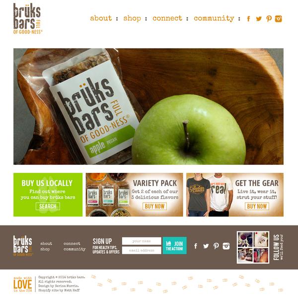 brüks bars - setup, theme customization