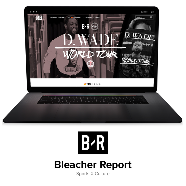 The official store of Bleacher Report