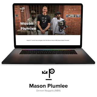 The official shop of NBA player Mason Plumlee