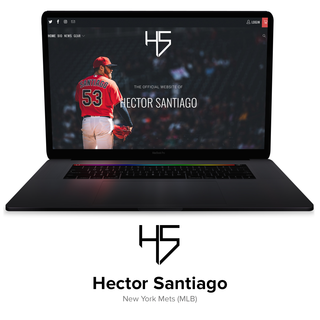 The official website of New York Mets Pitcher Hector Santiago