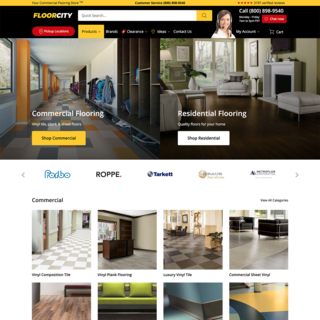 Floor City - modern B2B ecommerce