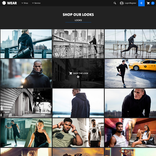 A custom made shoppable lookbook – Freeletics Wear
