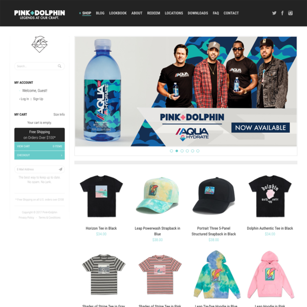 Pink Dolphin Clothing - https://www.pinkdolphinonline.com/
