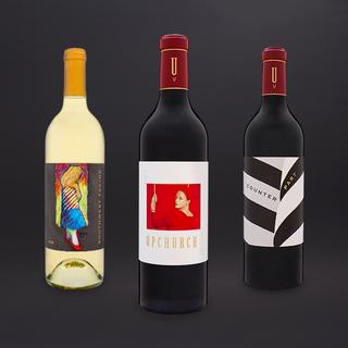 Upchurch Winery Bottle Photography