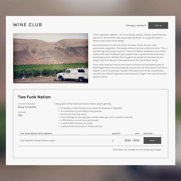 Two Vintners Wine Club