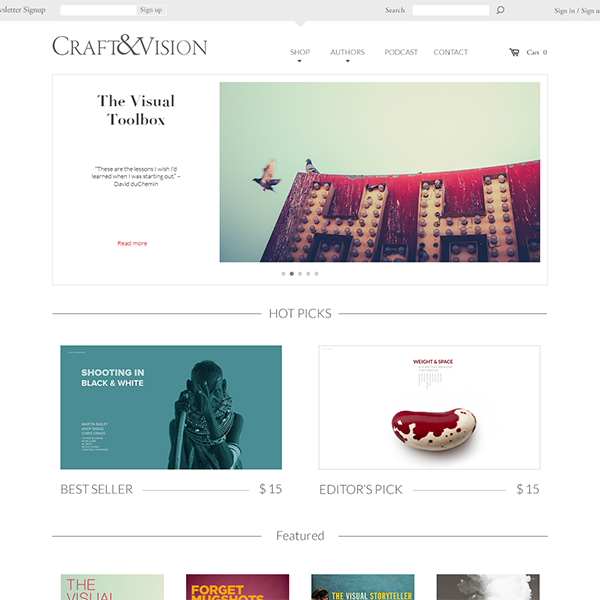 Craft & Vision